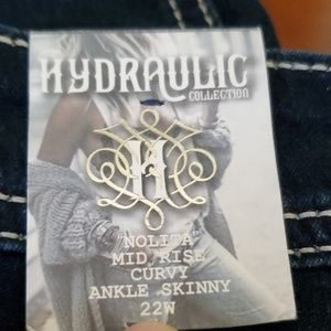 Hydraulic Jeans - Hydraulic Nolita Mid Rise Curvy Ankle Skinny Jeans
